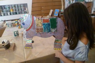 Mosaic and Art Class for Kids | Private
