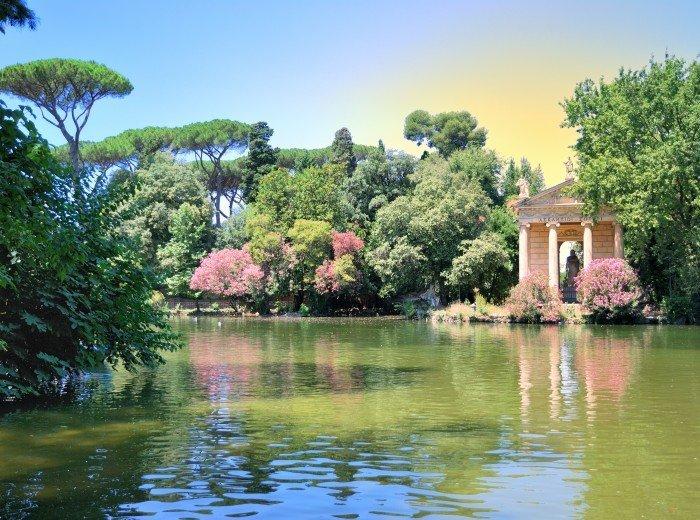 Villa Borghese Gardens and Gallery
