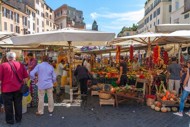 Campo De Fiori Farmers' Market