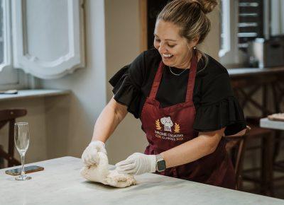 Pix Around Rome Tara Kneading Dough